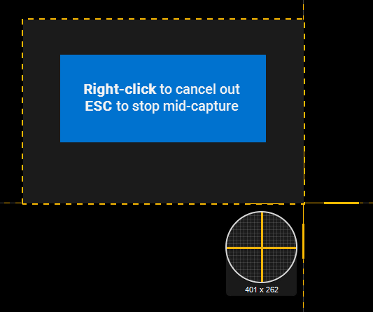 Snagit Quick Tip – Cancel Capture While in Progress