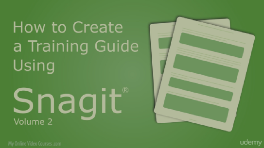 New Snagit Course on Udemy