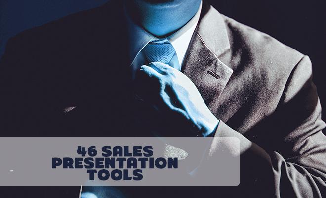 46 Sales Presentation Tools