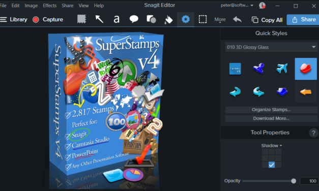 Installing SuperStamps to Snagit 13
