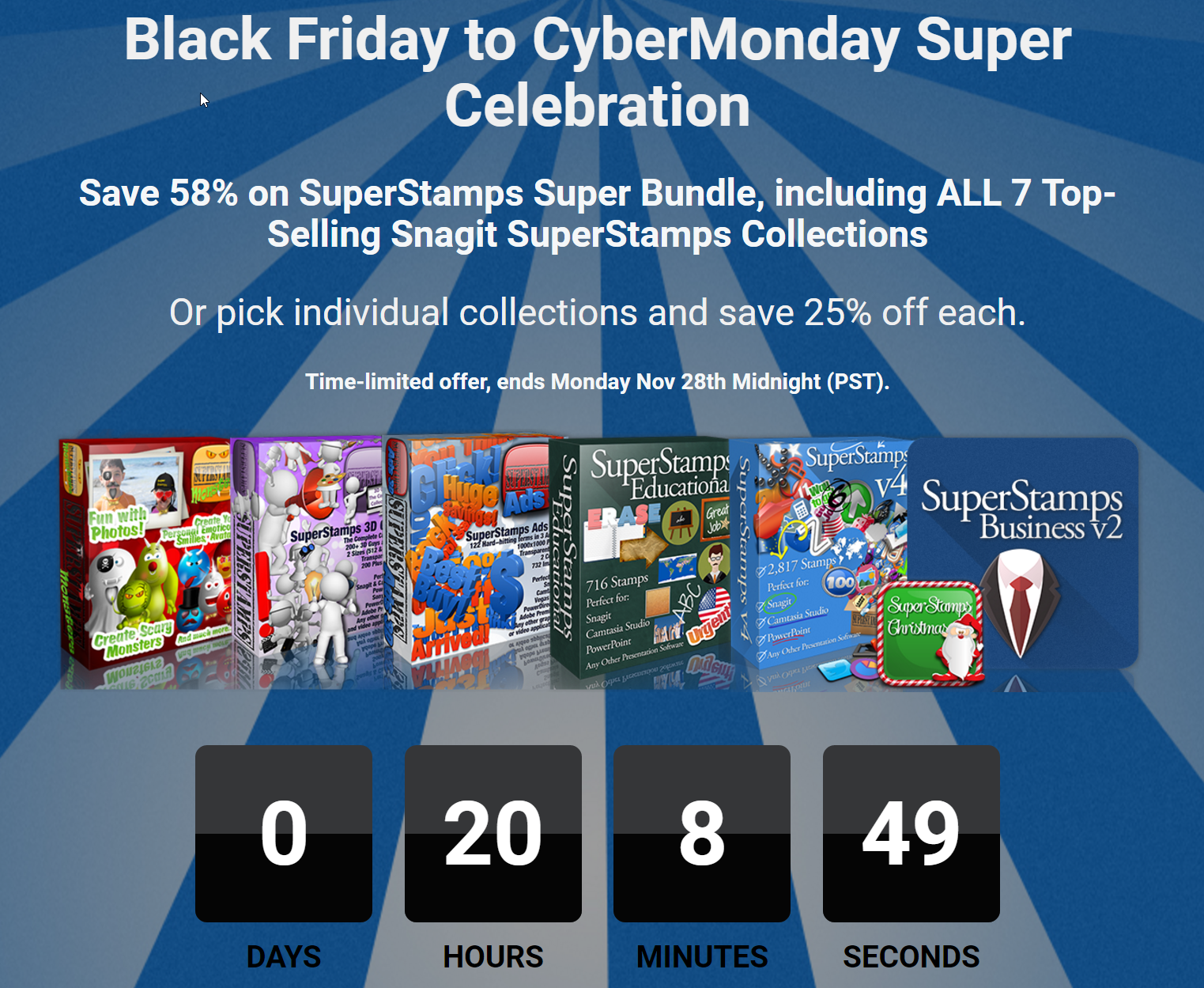 SuperStamps Super Bundle Cyber Monday Deal
