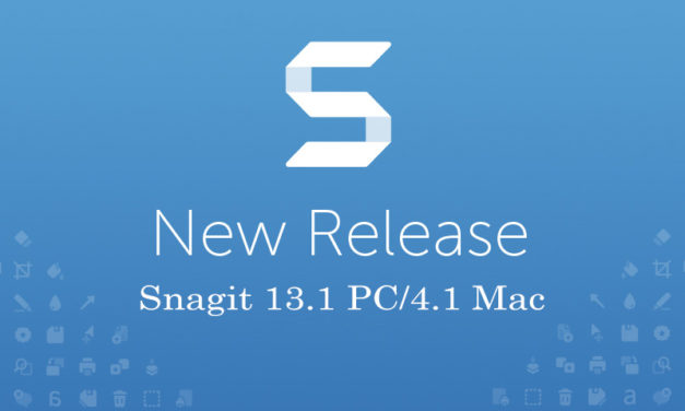 Snagit 13.1 Out Now